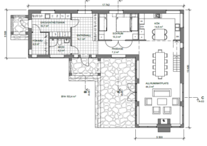 Fritidshus i Idre plan 1